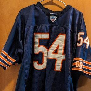 Brian Urlacher Chicago Bears football jersey